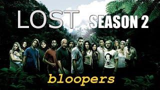 LOST Season 2 Bloopers (русские субтитры)
