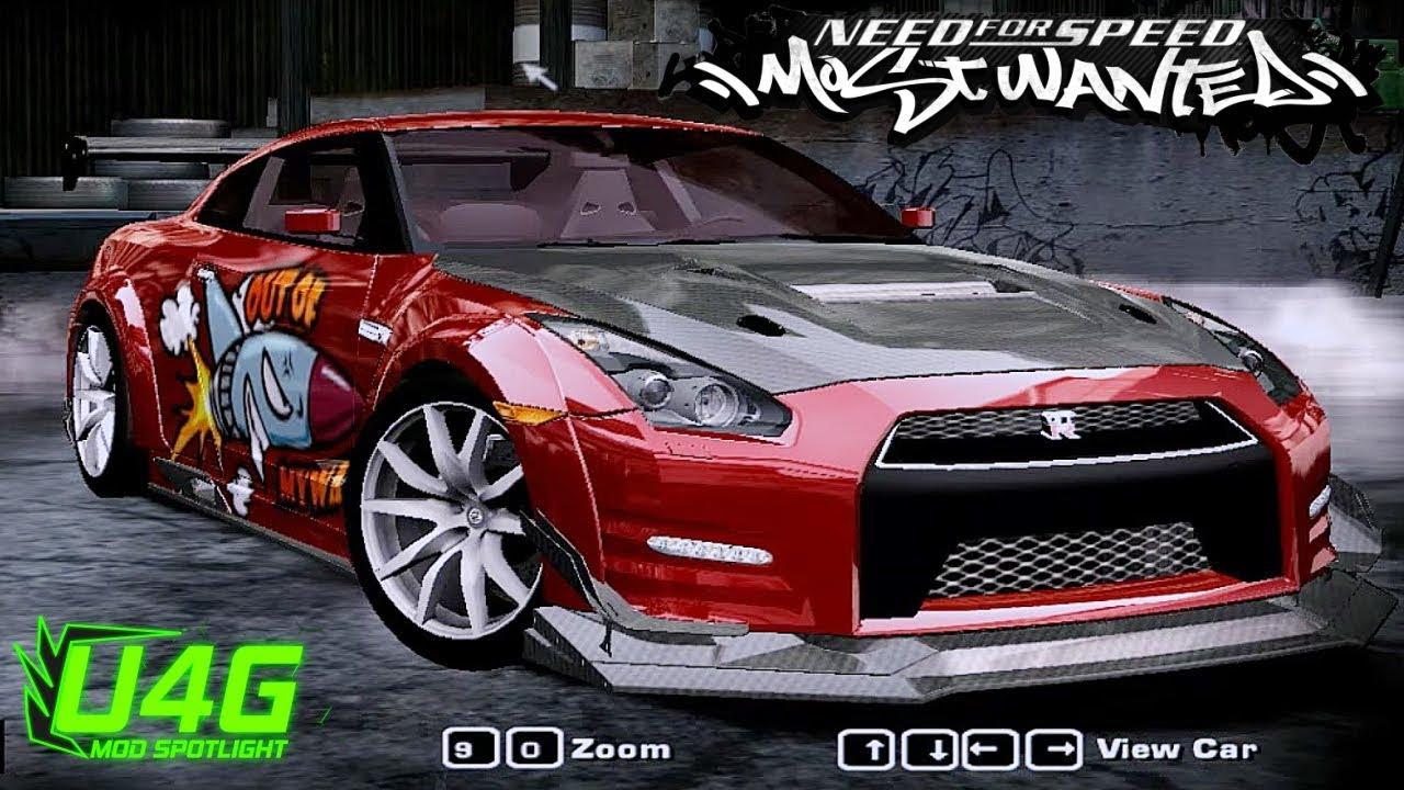 Nissan Gt R R35 Egoist 2013 Nfs Most Wanted 2005 Mod