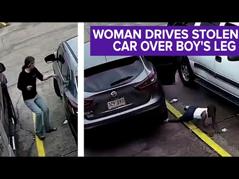 Heathen Woman Steals and Drives Off With BW's Car, Rolls Over Her Son's Leg