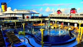2017 costa mediterranea cruise ship full inside tour by gopro