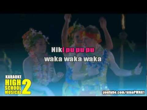 KARAOKE Humuhumunukunukuapua'a - High School Musical 2