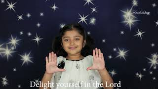 Psalms 37:4 | Memory Verse | Delight yourself in the Lord ...