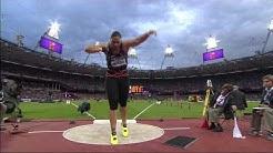 Valerie Adams wins Gold in London 2012