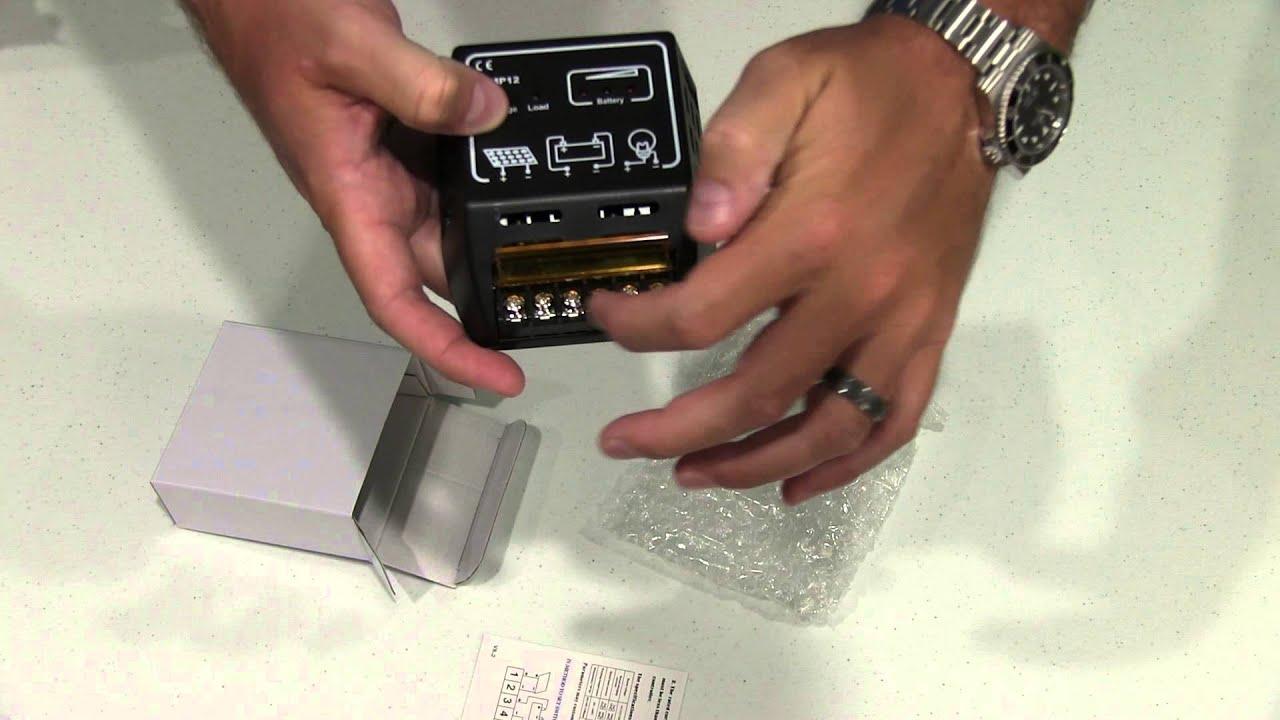 10a 12v 24v Solar Charge Controller Solar Panel Battery