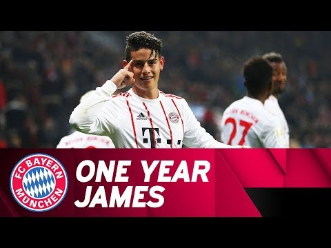 James Rodríguez: His First Year at FC Bayern!