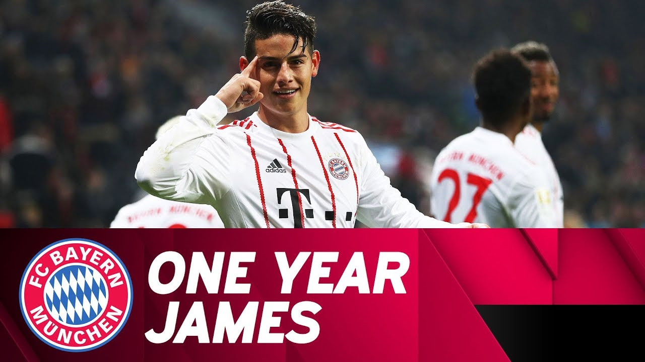 44e57e7f648 James Rodríguez: His First Year at FC Bayern! - YouTube