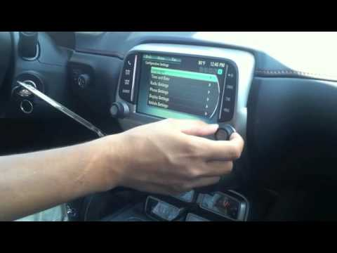 How To: Program Your Radio in the 2013 Chevy Camaro - YouTube