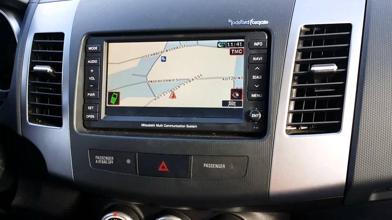 Mitsubishi Outlander Rockford Fosgate Audio