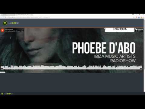 SoundCloud player Pro for Adobe Muse CC  Audio Player  Widget Tutorial  MuseShopnet