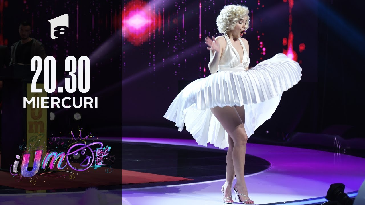 iUmor 2021 | Marilyn Monroe a venit la iUmor cu un moment extrem de senzual: Mihai, Mihăiță, Mișu
