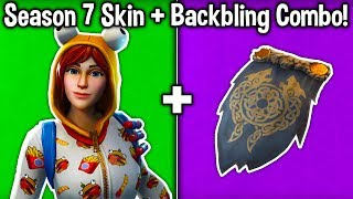 "10 BEST ""SEASON 7"" SKIN + BACKBLING COMBOS in Fortnite Battle Royale! (Fortnite Hautkombinationen)"