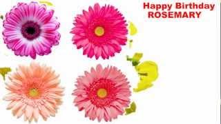 Rosemary - flowers - Happy Birthday