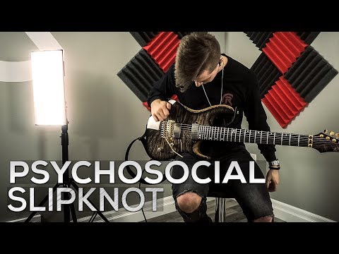Psychosocial - Slipknot - Cole Rolland (Guitar Cover)