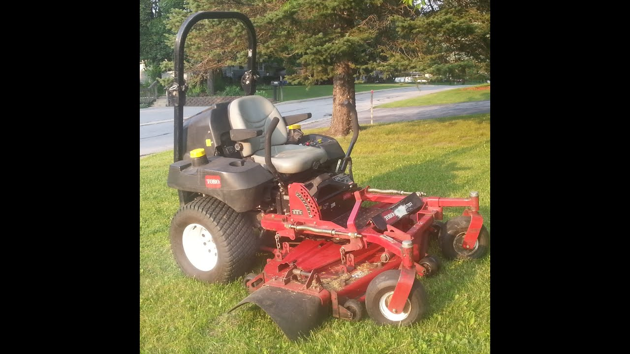 Toro Z Master 60 Quot Diesel Lawn Mower Youtube