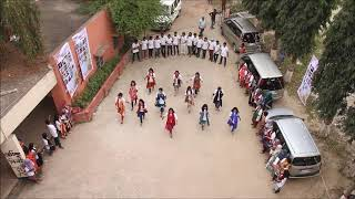 Flash Mob of AERS, Session: 2011-12
