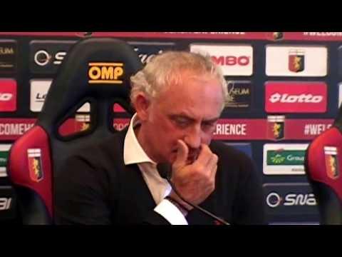 Presentazione Andrea Mandorlini Genoa - 22/02/2017