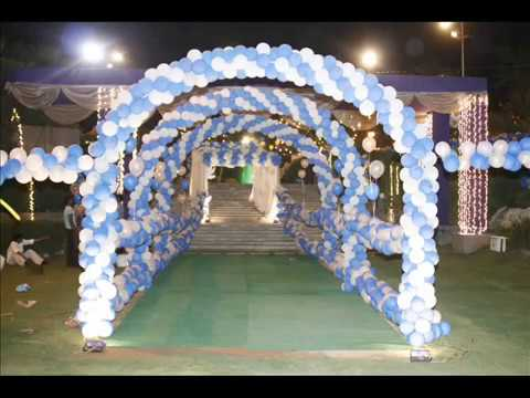 Balloons Decoration Birthday Greater Noida Youtube