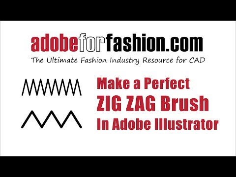 How to make a Perfect Zig Zag Brush In Adobe Illustrator