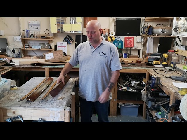 Classic car wood repair