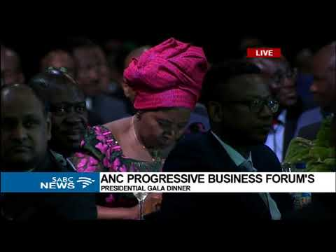 President Zuma delivers ANC Progressive Business forum keynote address