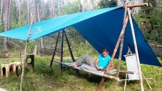Навес  + стол + кровать + скамья в одном      от адвоката Егорова