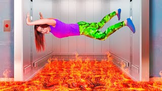The Floor is Lava Challenge!