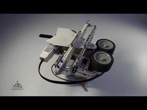 Lego EV3 - Запускатель самолётиков