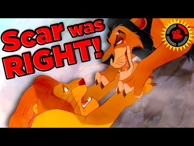 Film Theory: Why Scar is the RIGHTFUL King! (Disney Lion King)