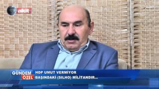 HDP umut vermiyor, bilakis halkı ayaklandırmaktadır.
