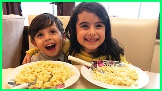 Yankı ile Rüya Anneanne Makarnası Yediler l Eğlenceli Çocuk Videosu l Rüya'nın Çiftliği