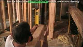 Framing Basement Half Walls