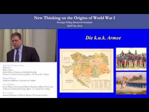 New Thinking On The Origins Of World War I