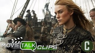 pirates of the caribbean 5 keira knightley s elizabeth swann confirmed to return collider video
