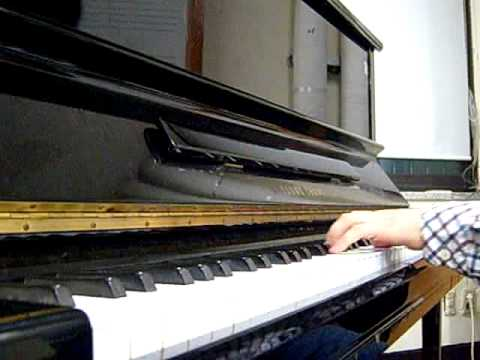 Only love(Mistral's daughter-Vladimir Cosma) solo piano