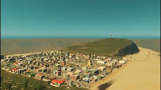 Beach City in Cities: Skylines! (Steven Universe)
