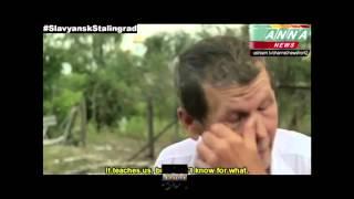 УЖАС!!!!  ДНР Славянск Кровавая война  УКРАИНА