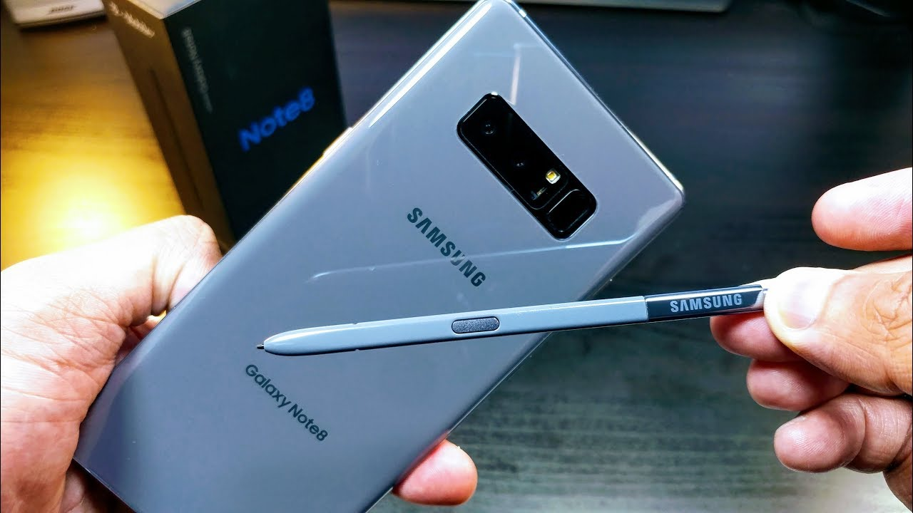 Samsung Note 8 Unboxing What S The Best Color Youtube