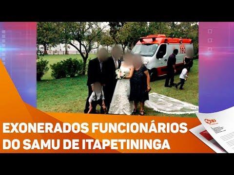 Exonerados funcionários do SAMU de Itapetininga - TV SOROCABA/SBT