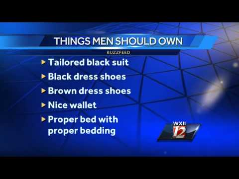The list of things every man over 30 should own