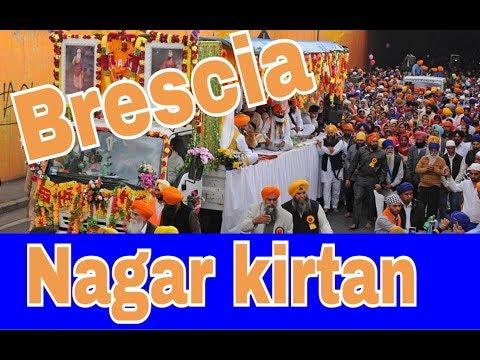 Nagar Kirtan Gurudwara Singh Sabha Flero Brescia, Italy