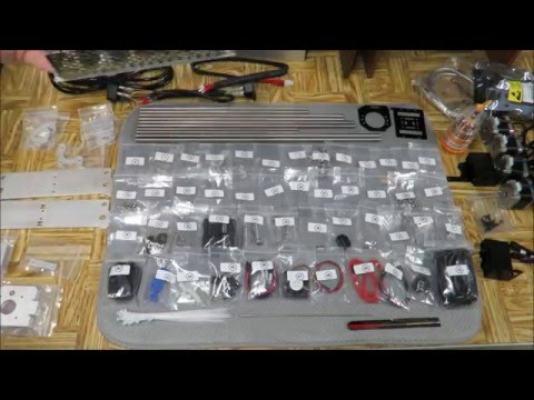 Geeetech Aluminum Prusa I3 Assembly Part 1