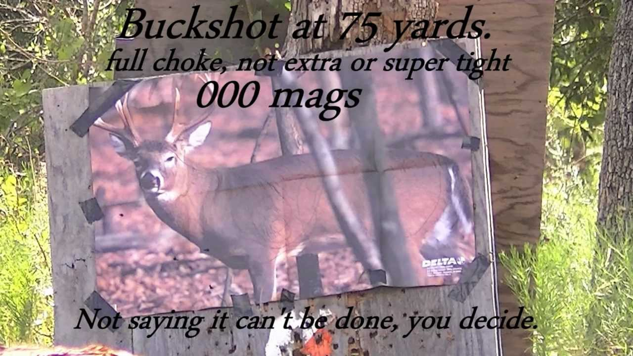 000 buckshot magnums 75 yards accurate good enough for hunting 000 buckshot magnums 75 yards accurate good enough for hunting publicscrutiny Gallery