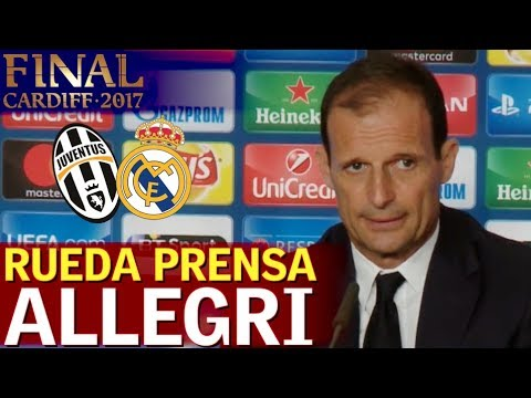 Juventus 1-4 Real Madrid | Rueda de prensa de Allegri | Diario AS
