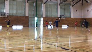 国際武道大学ハンドボール部 練習風景