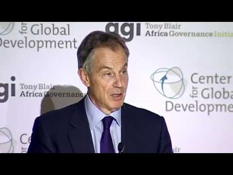 "Tony Blair: Supporting Good Leaders Can Help Make this ""Africa's Century"""