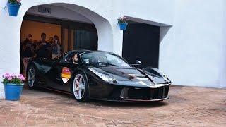 Ferrari 70th anniversary Marbella (Laferrari Aperta and more) +50 Ferrari Convoy