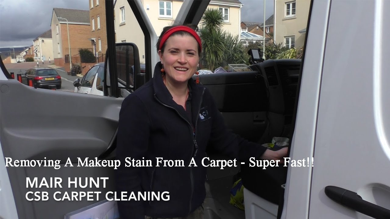 Removing A Makeup Stain From A Carpet Super Fast - CSB ...