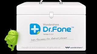 wondershare Dr.Fone for Android - для восстановления данных