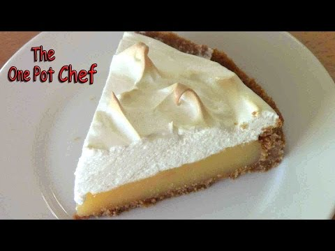 Lemon Meringue Pie   One Pot Chef