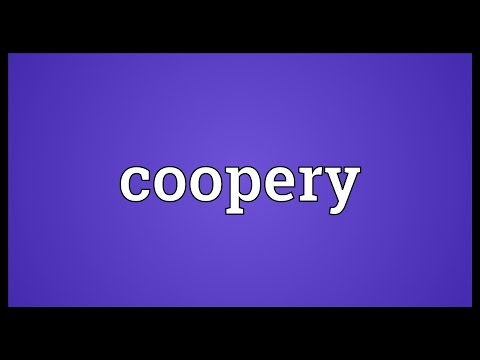 Header of coopery